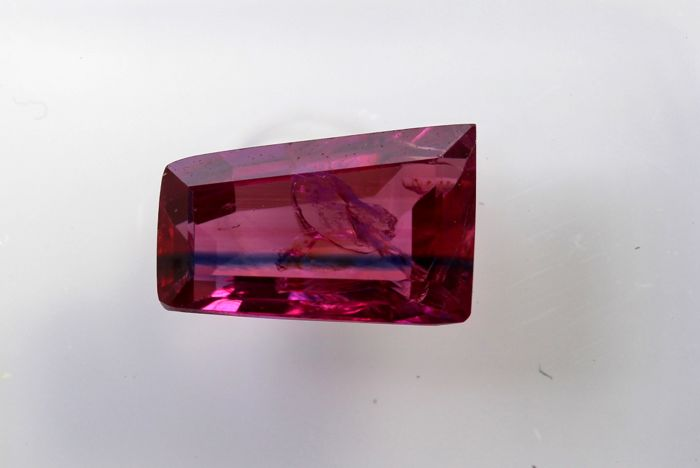 Ruby - 1.02 ct - Intense Purplish Red - Fine Color Quality