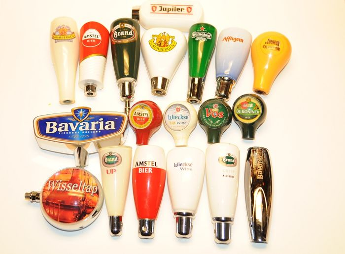 19 Beer tap holders Tip: use it as a gear lever?