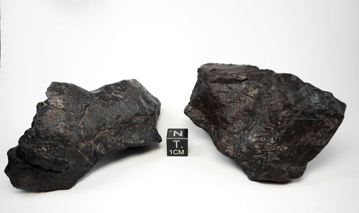 Lot of meteorites NWA 11518, chondrite H5 - 310 g. (2)