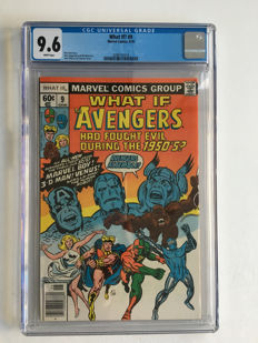 Marvel Comics - What If? Volume 1 #9 - CGC 9.6 graded!!!! Extremely high grade!! - 1x sc - (1978)