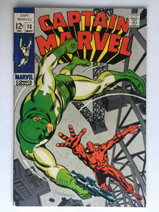 Marvel Comics - Captain Marvel #13 - 1x sc - (1969)