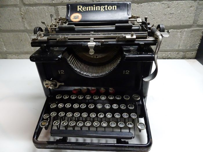 Remington typemachine model 12 uit 1923