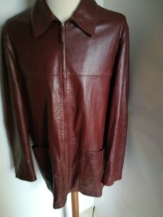 Canali - Leather jacket - Vintage