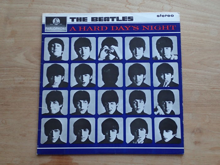 First UK 1964 STEREO press The Beatles  - A Hard Day's Night