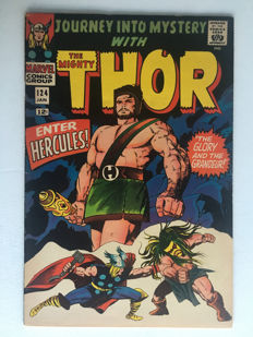 Marvel Comics - Journey Into Mystery / Thor #124 - 1x sc - (1966)