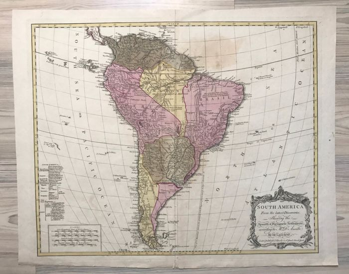 South-America; D\'Anville - South America from the latest ...