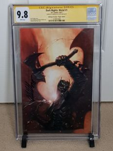 DC Comics - Dark Nights : Metal #1 - Bulletproof Comics Virgin Variant Cover - Signed by Gabriele Dell'Otto - CGC 9.8 - (2017)