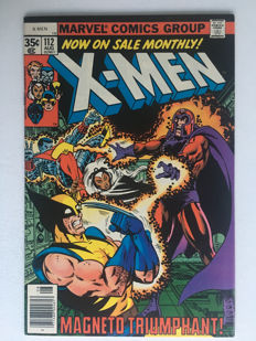 Marvel Comics - X-Men #112 - Magneto! - Very High Grade!! - 1x sc - (1978)