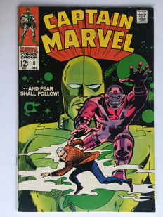Marvel Comics - Captain Marvel #8 - 1x sc - (1968)