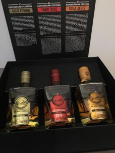 De Molenberg Giftpack Anniversary Edition 3x20cl including Gold Fusion