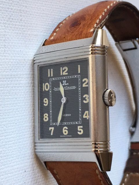 Jaeger-LeCoultre - Reverso Grande Taille Shadow - 271.8.61  - Men - 1990-1999