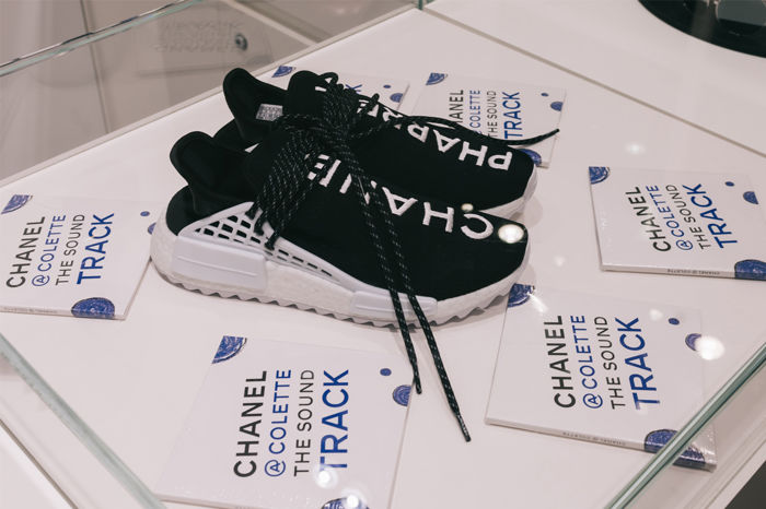 Adidas x catawiki chanel.