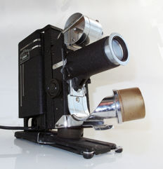 "Vintage Picturol Projector model G: with 4"" projection lens in original case"