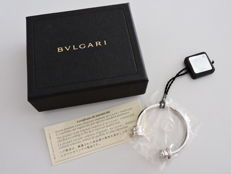 Bvlgari BULGARI B.zero1 key holder in 925 silver keyring