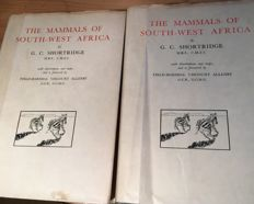 G.C. Shortridge and two others - The Mammals of South-West Africa  - 1934