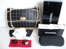 Chanel - 2.55 Single flap Handbag+Fashion Accessories -* No Reserve Price!* - VIntage