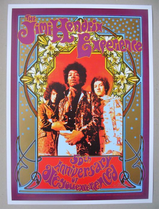 "Jimi Hendrix ""Are You Experienced ?"" 50th Anniversary by Karl Ferris & Bob Masse"