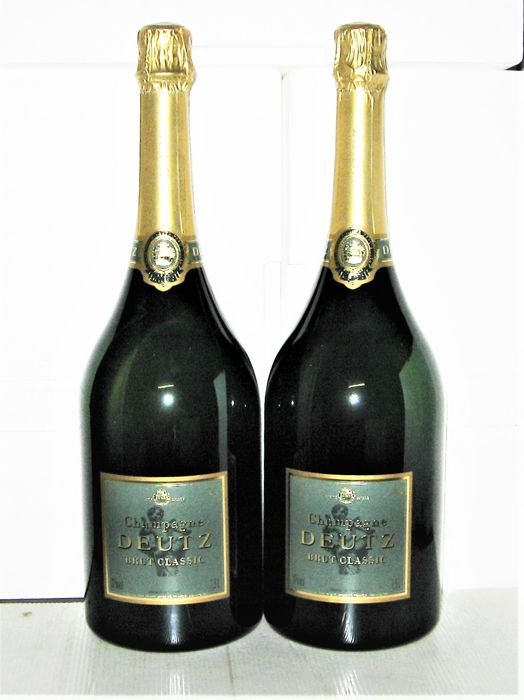 champagne deutz brut classic lot 2 magnums 1 5l catawiki. Black Bedroom Furniture Sets. Home Design Ideas