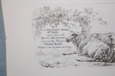J. Merigot - No 1 A Drawing book of cattle. Taken from the best masters. Engraved bij Merigot - 1792