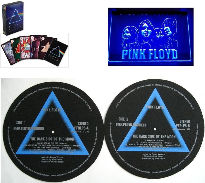 Pink Floyd  Great Memorabilia Lot For Your Bar / Office / Music Room