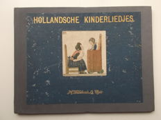 J. Rontgen & H. Willebeek Le Mair (illustr.) - Hollandsche kinderliedjes - 1917