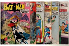 Batman + The Mighty Thor 147 + Superman 147, 148 + Superman's Girlfriend Lois Lane 28 + Superman's Pal Jimmy Olsen 56