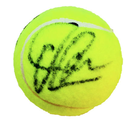 Jim Courier - Authentic & Original Signed Autograph in a  Wilson Tennis Ball - With Certificate of Authenticity