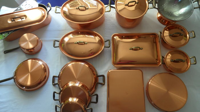 Copper pots - Ruffoni, Italy -