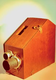 Wooden photo camera CAM-O 1923 Corp Kansas City Missouri