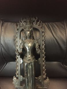 Bronze Avalokiteshvara - Indonesia - 2nd half 20th century (35 cm)