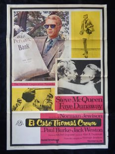 El caso Thomas Crown ('The Thomas Crown Affair, Norman Jewison) - 1968