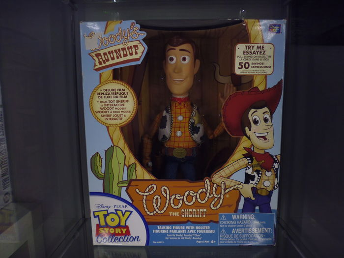 Woody Toy Story Collection Movie Perfect Replica Very Rare First
