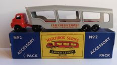 (Moko) Lesney Matchbox 1-75 - Accessory Pack No.2 Car Transporter - 1958