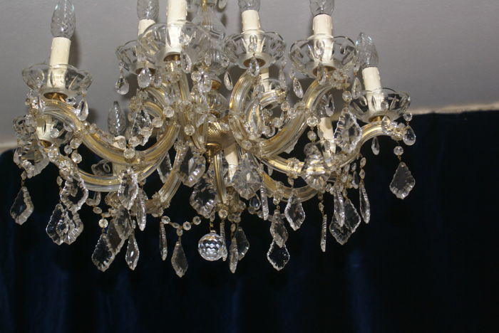 Twelve armed marie antoinette chandelier 20th century catawiki twelve armed marie antoinette chandelier 20th century aloadofball Image collections