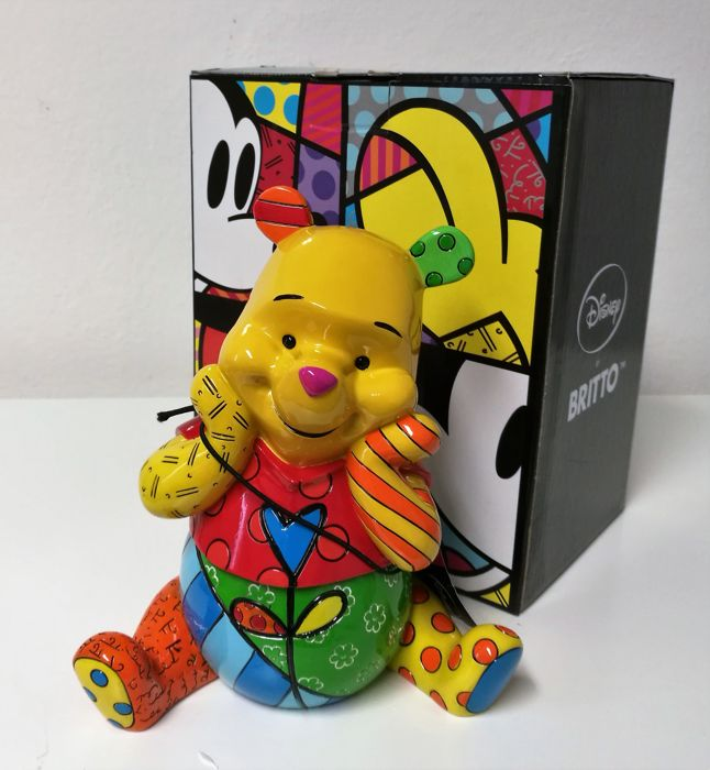 Disney - Figurine - Romero Britto - Disney Showcase - Winnie The Pooh (2014)