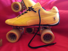 Professional 4-wheel roller skates with Puma Ferrari shoe