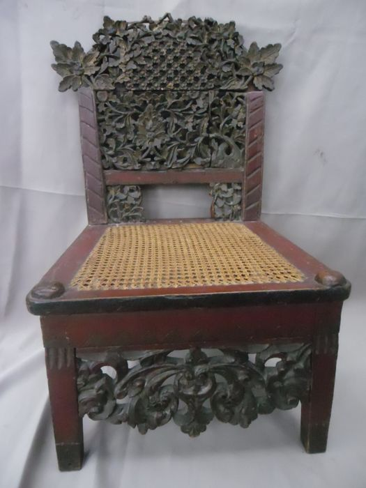 antique colonial nursing chair, Nursing chair, probably, 19th century
