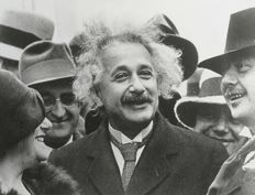 Unknown/Bildarchiv Preussischer Kulturbesitz  - Albert Einstein, United States, 1920's