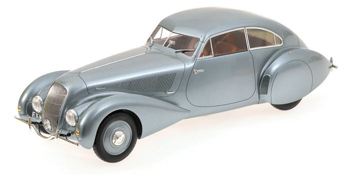 Minichamps First class Collection Edition 2 - Scale 1/18 - Bentley Embiricos 1938 - Limited 999 pcs. - Colour: Grey metallic