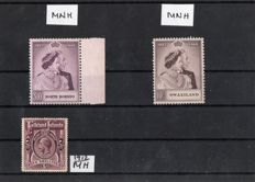 British commonwealth - selection on stock cards