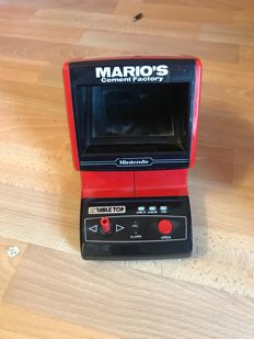 Nintendo Game & Watch -Table Top - Mario's Cement Factory