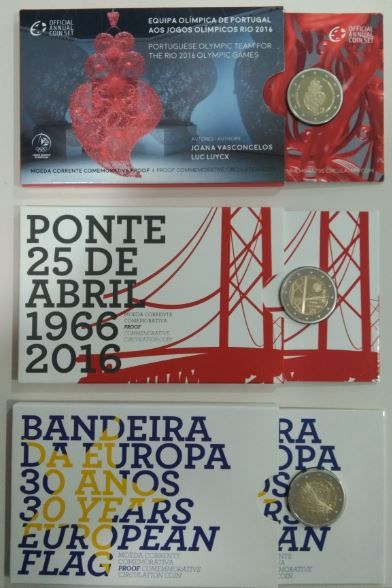 Portugal – 2 Euros (Proof) Commemorative Circulation Coin