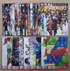 Marvel Comics - Avengers : The Initiative #1-23 + Annual + Young Avengers Vol 2 #1-8 - x32 SC - (2007/2013)