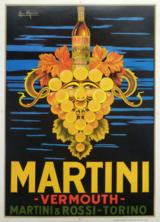 San Marco -  Martini Vermouth Martini & Rossi Torino (grape) - 1950
