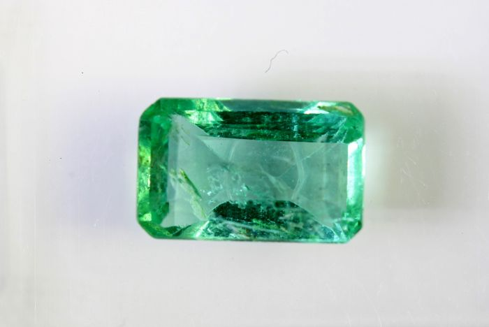 Emerald - 1.02 ct - Green