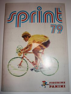 Panini - Sprint 79 - Complete album - Texts in French and Dutch