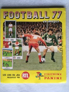 Figurine Panini - Football 1977 - Complete album