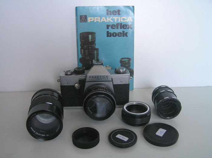 Praktica Super TL2 with 2 lenses