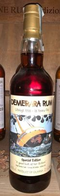 Demerara 1998 Uitvlugt 18Y Special Edition only 330 bottles Very Rare