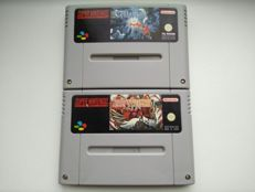 Lot of 2 SNES RPG games (PAL) - Terranigma & Secret of Evermore (both NOE)